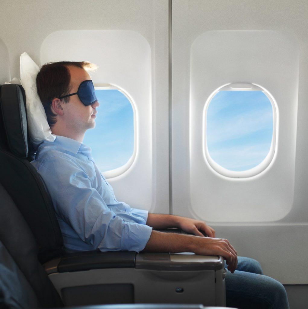Gjør flyturen så komfortabel som mulig