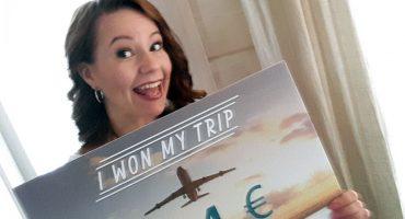 Erja ble månedens Win My Trip-vinner!